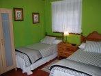 Dormitorio 3 camas