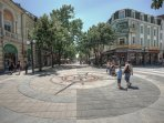 the very center of Burgas