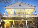 Guests enjoy the entire upstairs of this historic downtown home.