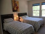 Bedroom 3 with New full & Twin Beds