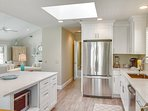 Beautiful Remodeled Kitchen Open to Living Space