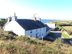 Porthwen farm with sea views