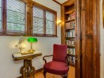 You will love our library nook