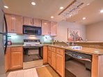The chef of the group will love whipping up recipes in the fully equipped kitchen.
