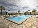 Lounge by the pool or swim in ocean waters when you stay at this 1-bedroom, 1.5 bathroom vacation rental condo in...