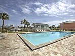 The Golf Terrace complex has 3 community pools guests can use throughout their stay.