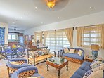 An abundance of natural light and nautical decor make this home warm and inviting.
