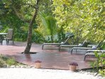 Pool side decks