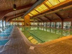 Fantastic indoor pool to enjoy especially if the weather did not fare well one day or if you had too much of the sun