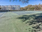 Tennis courts are also available during your stay ...Only at Ocean Dunes in Kure Beach!