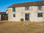 Old Mill converted barn, sleeps 10, with the Spa right beside