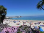The gorgeous Porthminster Beach in St Ives
