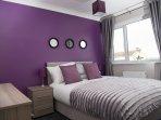 Bedroom 1 - double bed.