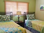 Bedroom 2 with Twin Beds can be converted to King for small fee