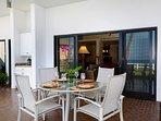 Lanai Dining Area