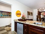 Wet Bar Off Dining Area and Great Room