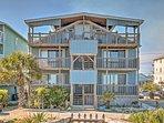 Elevate your North Carolina vacation when you stay at this beautiful Carolina Beach vacation rental condo.