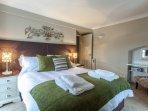 Bedroom 2 (upstairs) king bed