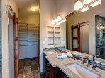 The Summit Sanctuary Master Bathroom Breckenridge Lodging Vacati