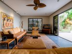 The living room, Balinese style