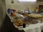 ogni mattina vi aspetta una abbondante colazione tipica salentina  ed internazionale