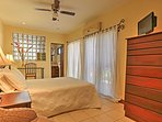 Retreat to the master bedroom for your very own private oasis.