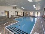 Splash around in the community indoor pool.