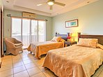This bedroom features 2 twin-sized beds, great for siblings or friends sharing a room.