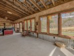 Large Sunroom for Family Times, Story Telling and Relaxing