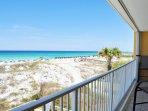 Balcony Gulf Dunes 217 Fort Walton Beach Florida Okaloosa Island Vacation Rentals