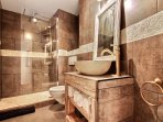 Twin ensuite with italien shower