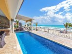 Your private beachfront pool