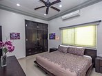 Guest suite 2 with king bed