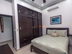 Guest suite 3 with queen bed