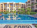 The El Faro infinity pool
