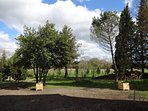 private garden jardin du gite