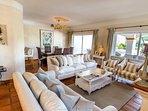 Luxury living/dining area