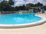 One of 3 pools on the condo property