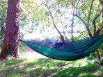 Fancy this? An  afternoon siesta beside the river right on your doorstep