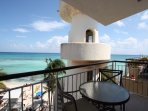 Your private ocean view patio
