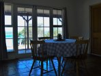 2nd Dining Room with Wood Fire