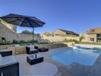 Beautiful house with heated pool