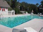 Enjoy the condo complex's private pool!