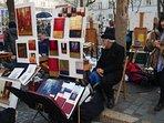 Place du Tertre, the artistic square