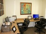 On site office facilities