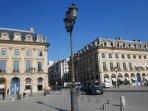 The famous place Vendôme