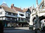 Salisbury - Minster Street & Poultry Cross