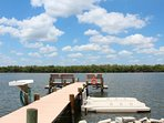 32/35: Enjoy use of the dock with jet ski and kayak launch facilities.