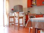 Apartment San Elena has a spacious open plan living-dining room area.
