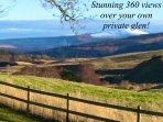 360 undisturbed views....peace, quite, magical!